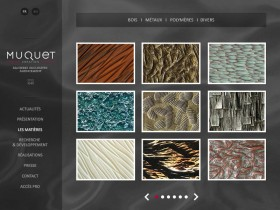 Zee Agency signe la refonte du site Atelier 78 / Muquet