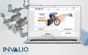 Le site d'Invalio fait peau neuve avec Zee Agency